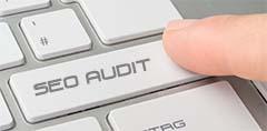 SEO Audit words on keyboard